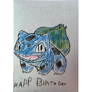 Happy Birthday Bulbasaur Bunt